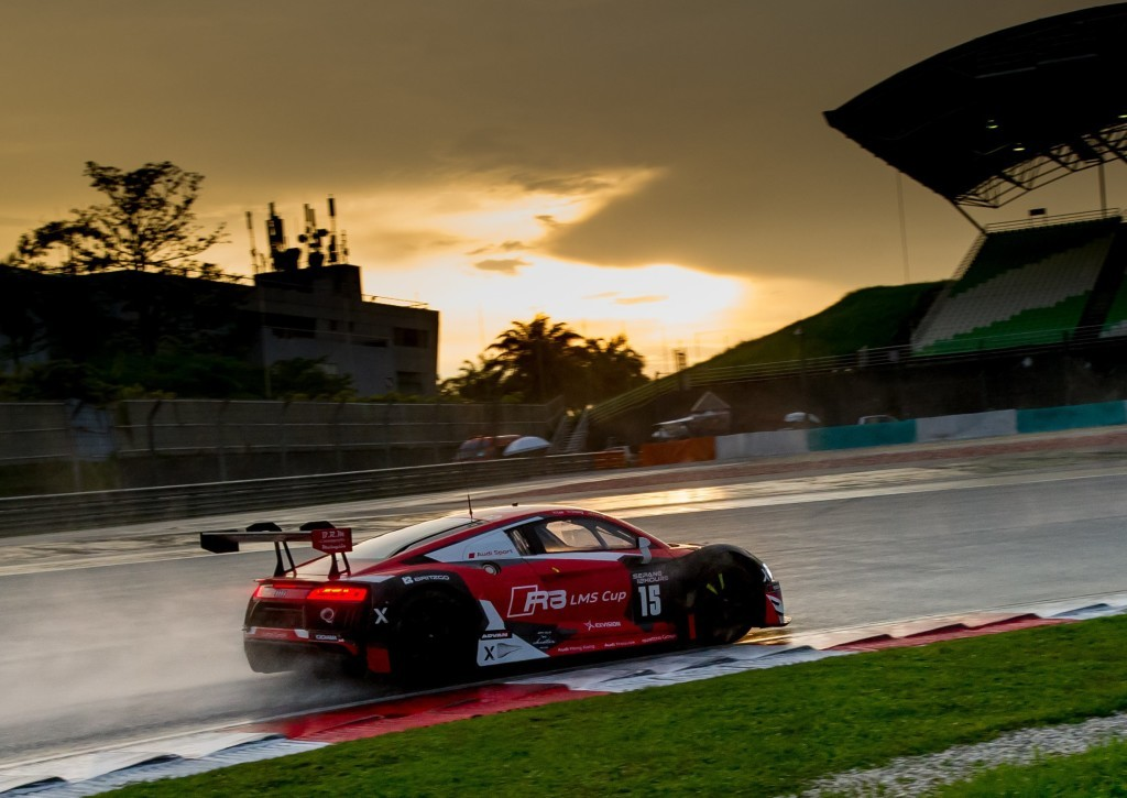 Audi R8 LMS #15 (Audi Hong Kong Powered by Phoenix Racing Asia), Marchy Lee/Shaun Thong/Alex Yoong