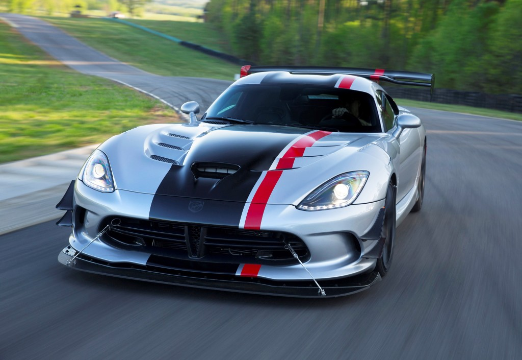 TrackWorthy -2016 Dodge Viper ACR with Extreme Aero package