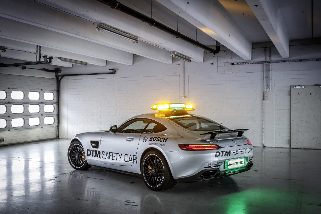 Mercedes-AMG GT S Safety Car DTM Debut at Lausitz