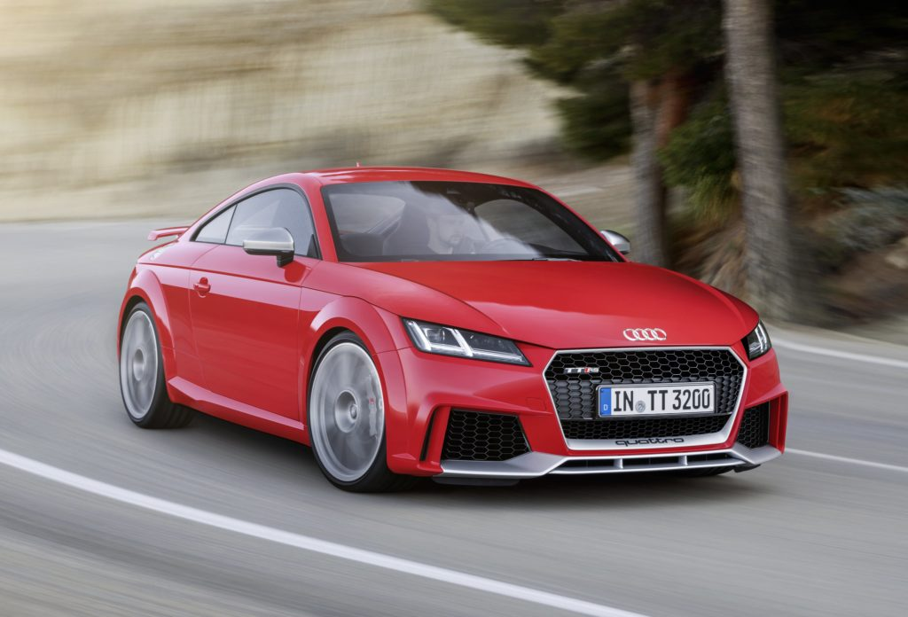 TrackWorthy - Audi TT RS Coupé