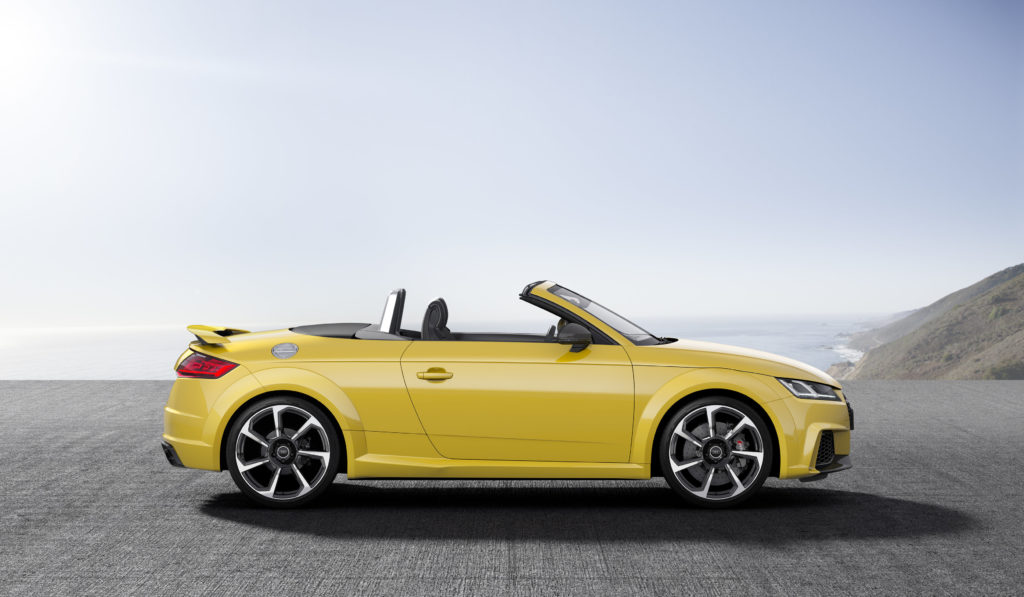 New Audi TT RS Coupe and Roadster