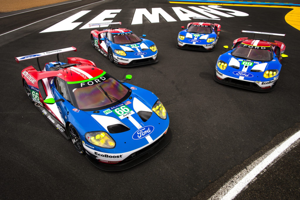 Ford Gt Prepare For Le Mans  Years After  Finish