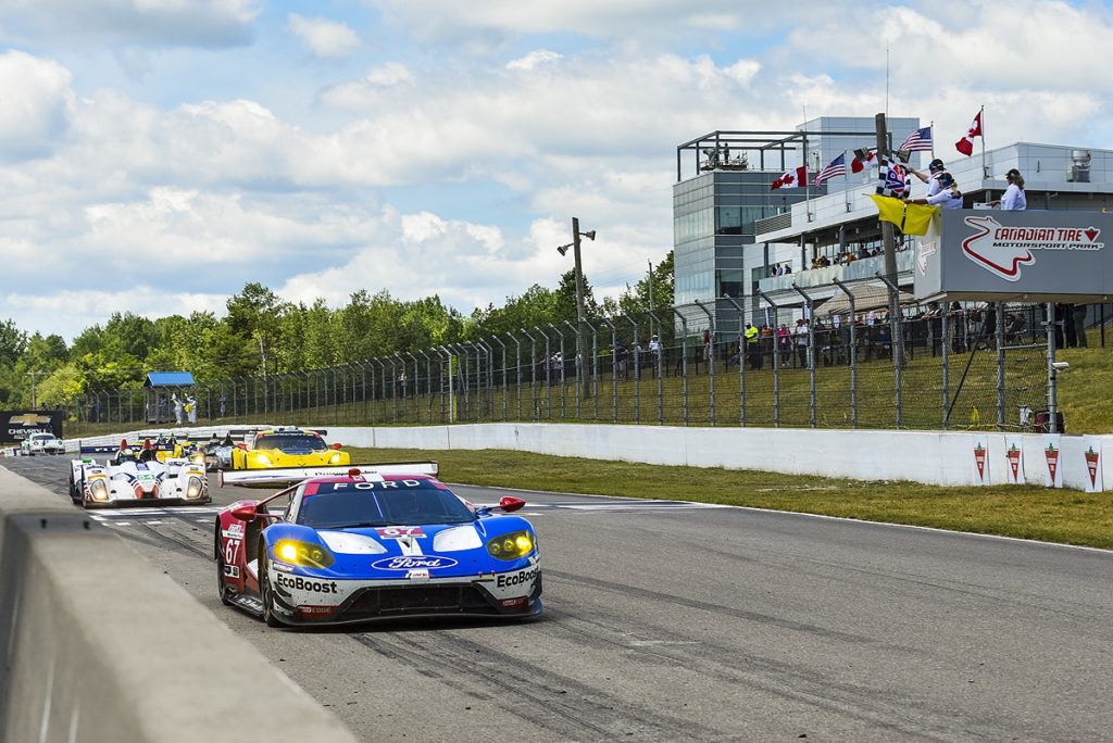Imsa Win For Ford Gt At Canadian Tire Mo Sport Park