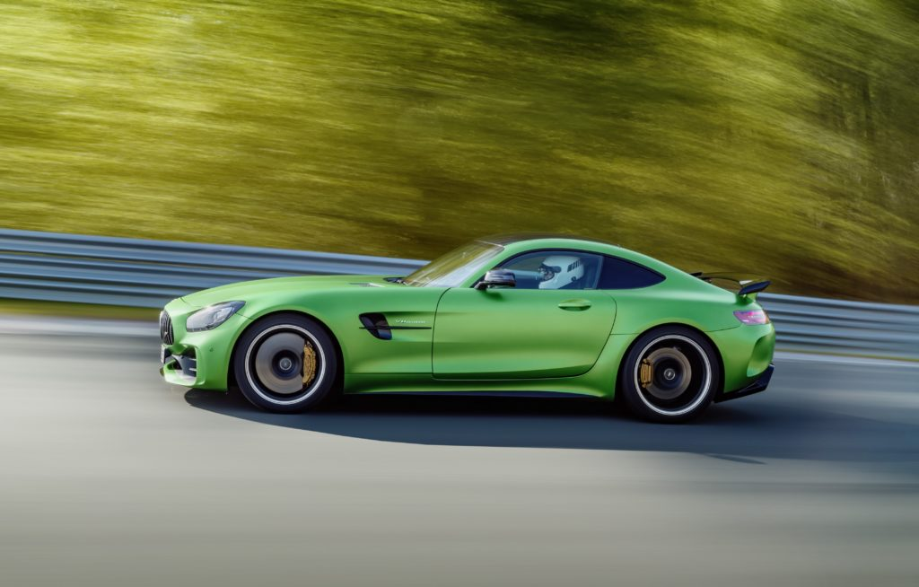 New Mercedes-AMG GT R Emerges from the 'Green Hell'