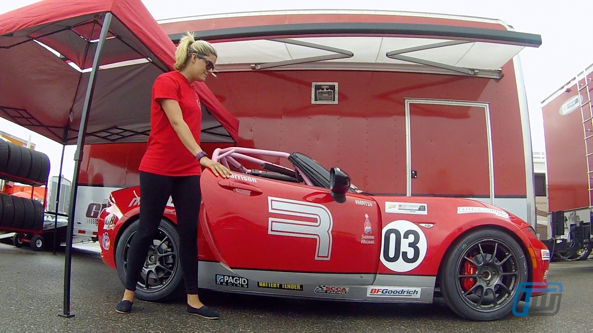 Interview Mazda Mx 5 Race Car Driver Ashton Harrison