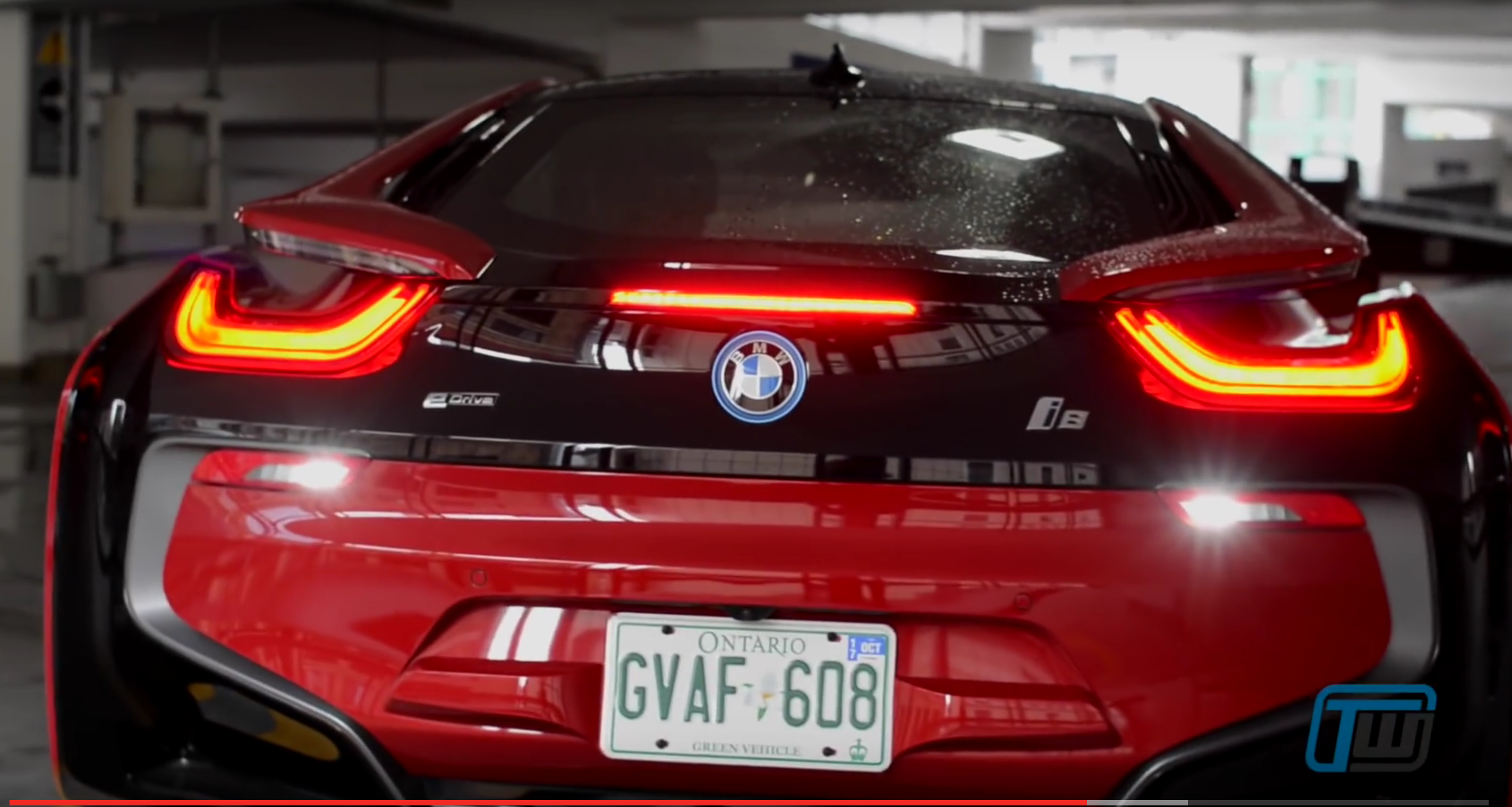 2017 Bmw I8 Protonic Red Edition Plug In Hybrid Review Trackworthy