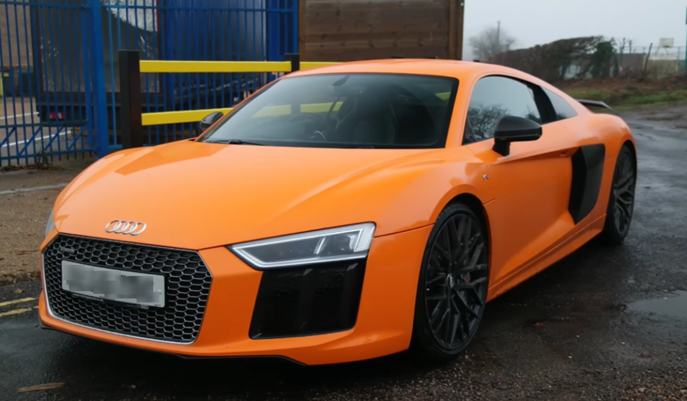 TrackWorthy - Audi R8 V10 Plus