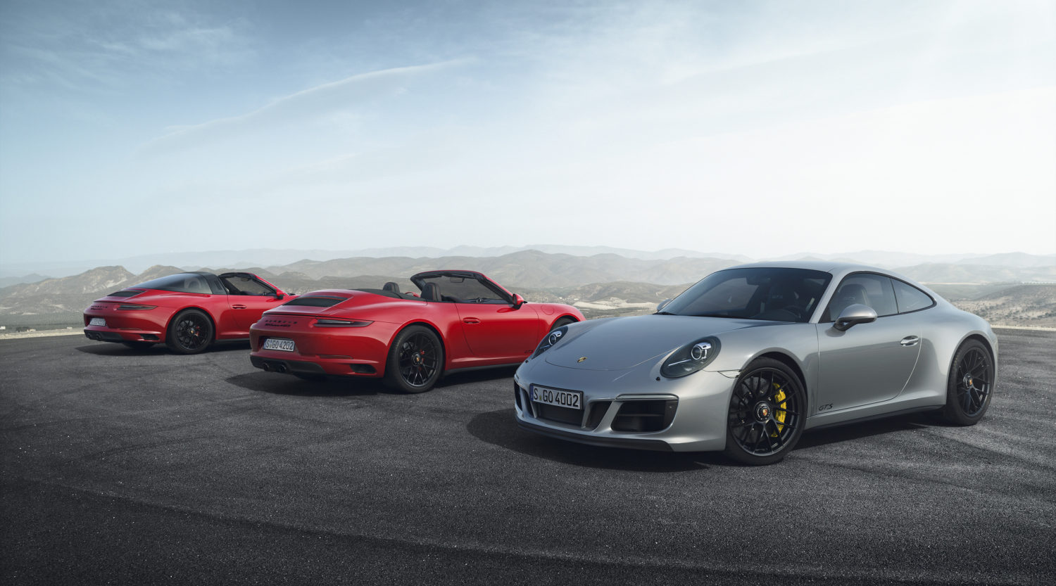 Porsche Is Expanding The 911 Model Line With Five New Gts Models Rear Wheel Drive Carrera All 4