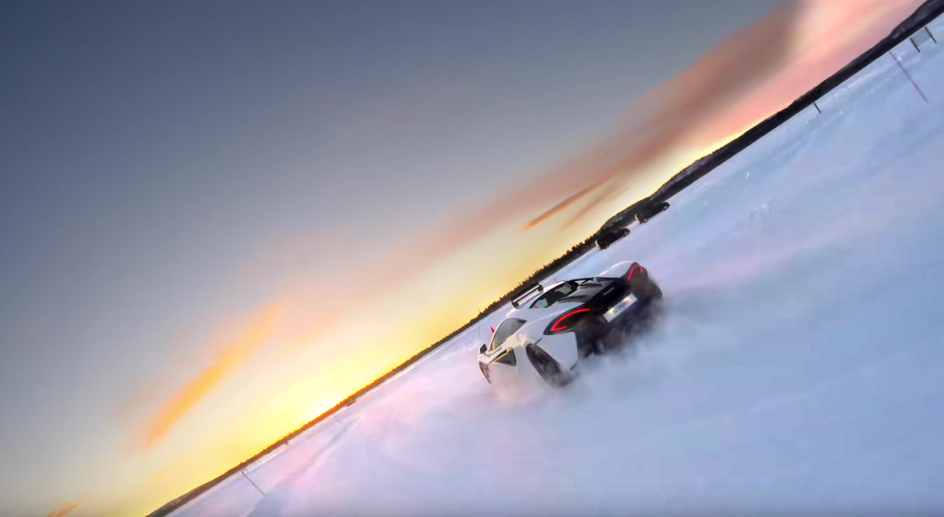 TrackWorthy-McLaren 570s Snow