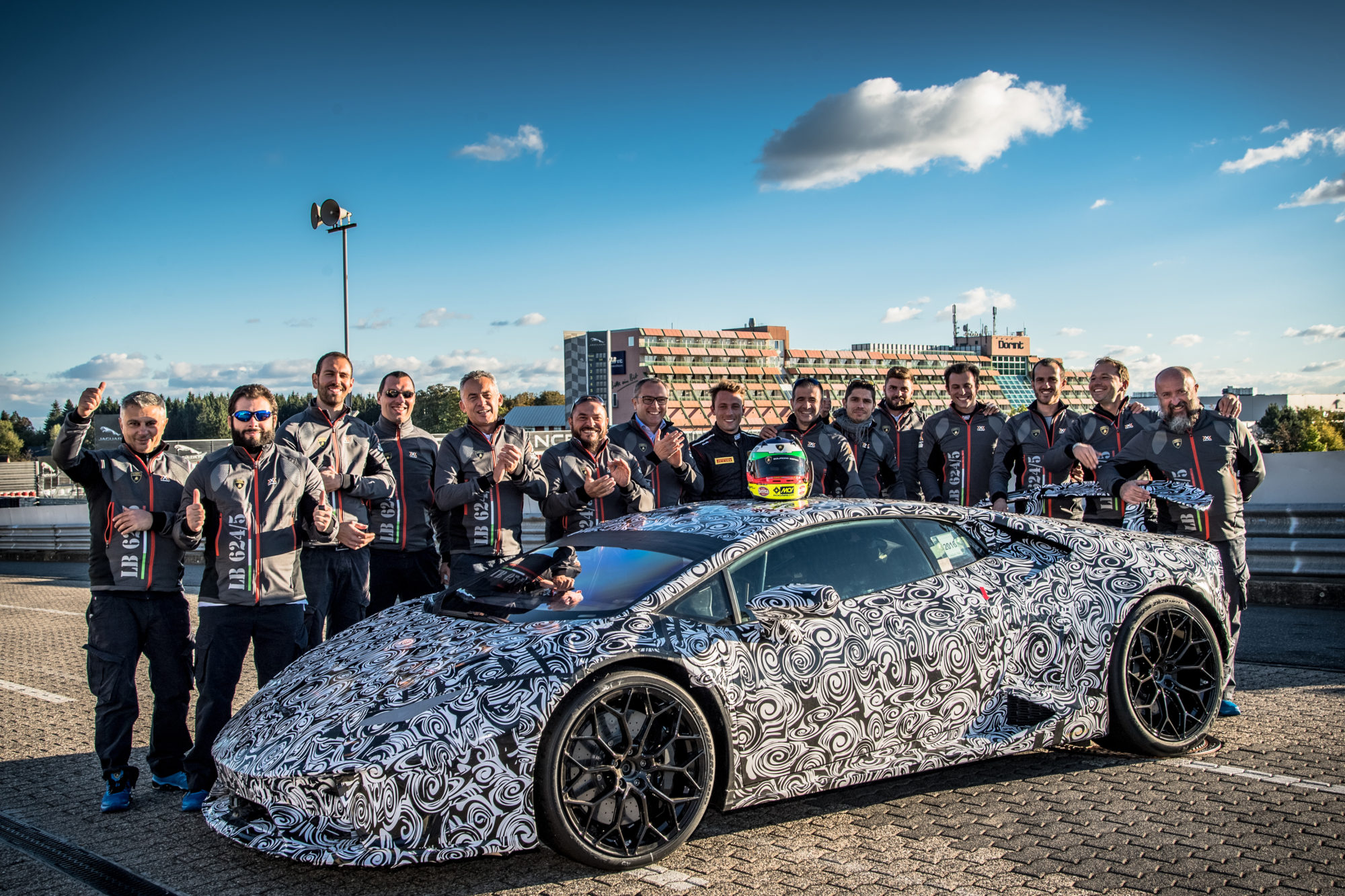 Lamborghini Huracán Performante Sets Lap Record at Nürburgring Nordschleife
