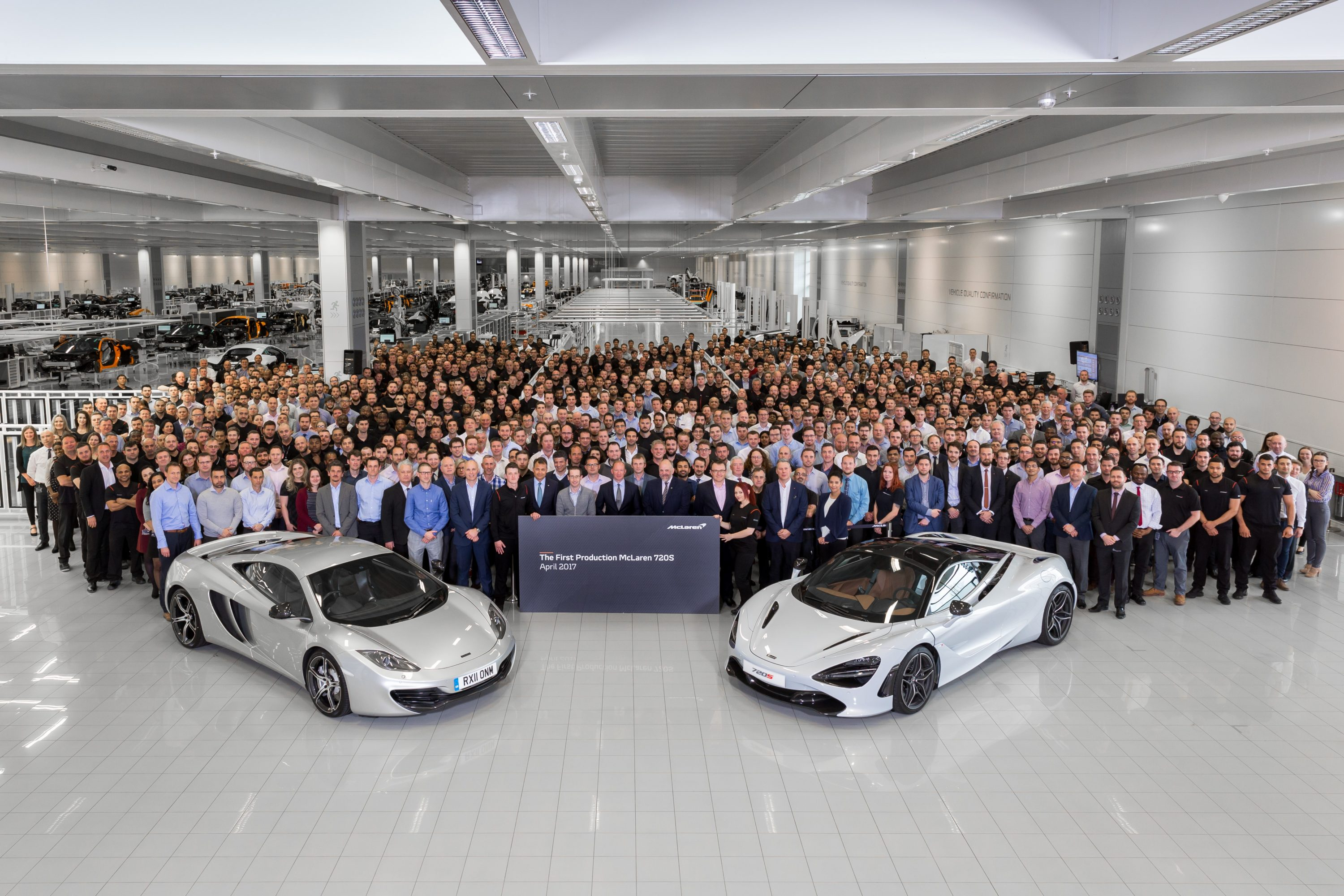 TrackWorthy - First Production McLaren 720S with McLaren 12C at MPC