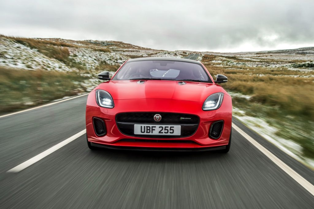 TrackWorthy - New Jaguar F-TYPE with turbocharged four-cylinder engine (2)