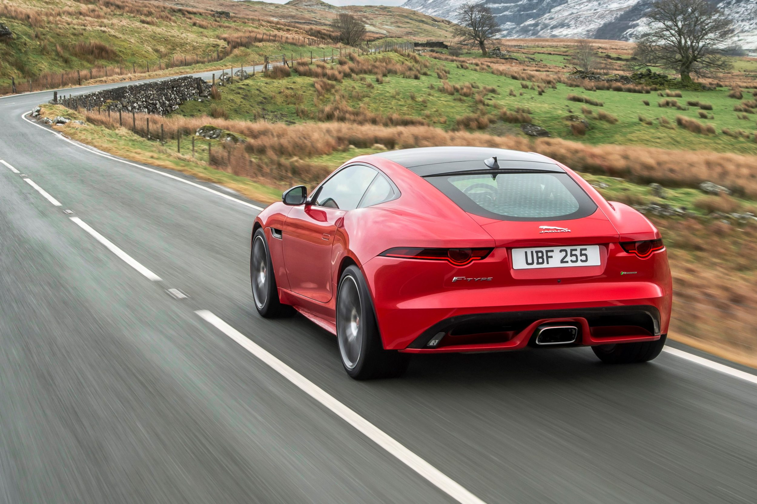 Jaguar FTYPE With Turbocharged FourCylinder Engine - 4 cylinder jaguar