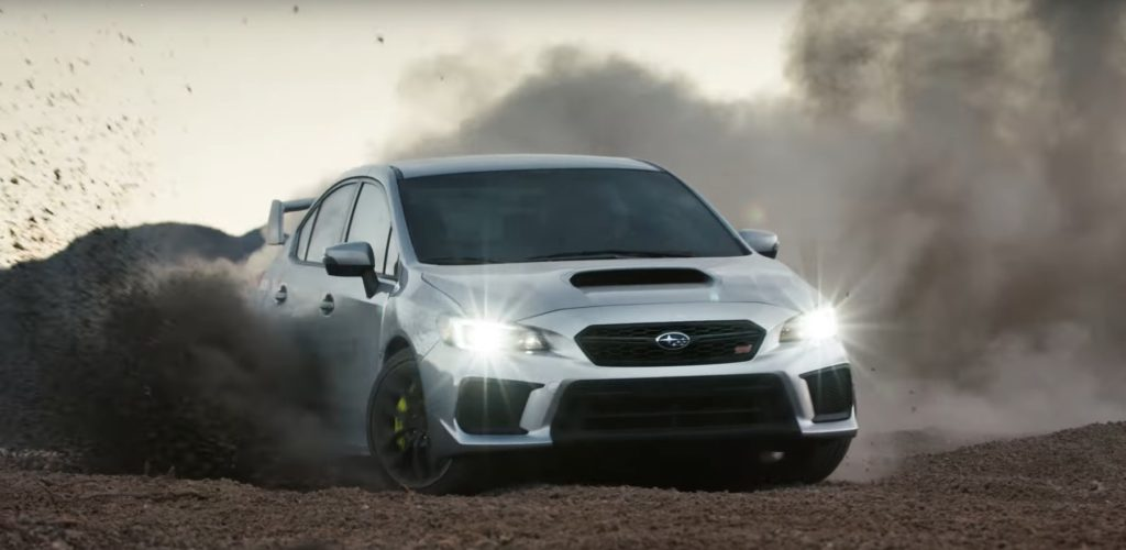 Kicking up Dust in the New 2018 Subaru WRX and WRX STI ...