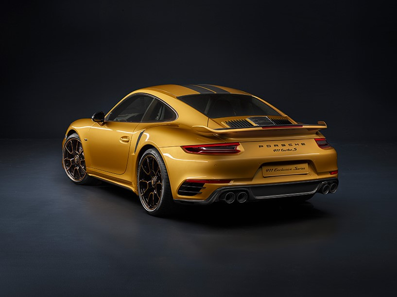 New Porsche 911 Turbo S Exclusive Series Has Increased Power and Luxury