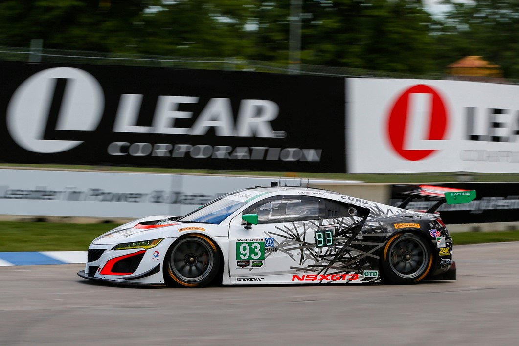 First Win For Acura Nsx Gt3 In International Sports Car