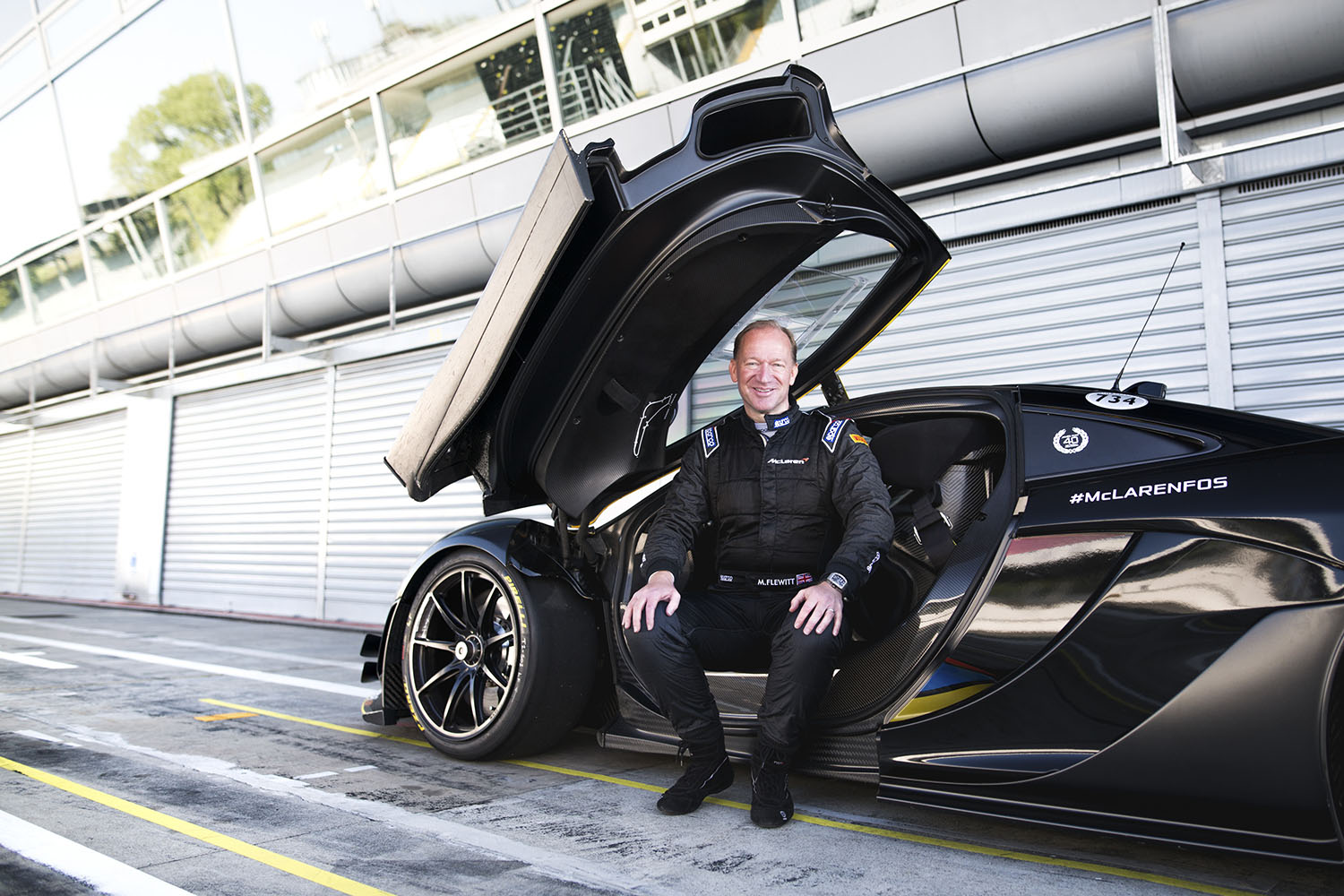 TrackWorthy - Mike Flewitt, Chief Executive Officer McLaren Automotive (1)