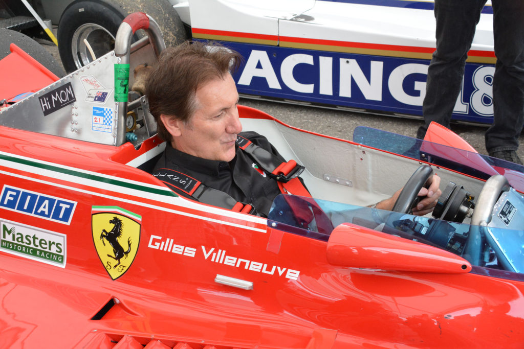 TrackWorthy – Ron Fellows sitting in Gilles Villeneuve's F1 car for the first time (1)