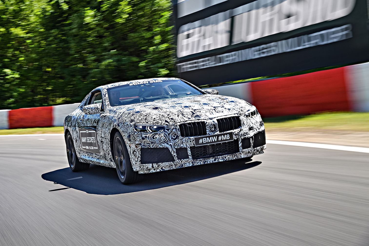 TrackWorthy - BMW M8