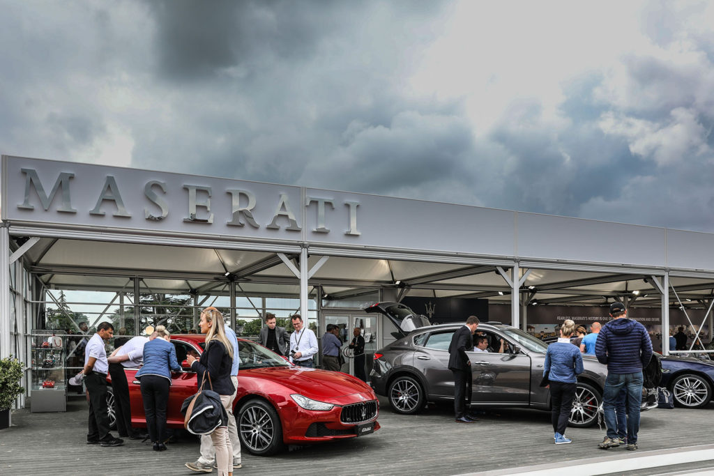 TrackWorthy – Maserati stand display at the Goodwood Festival of Speed 2017 (1)