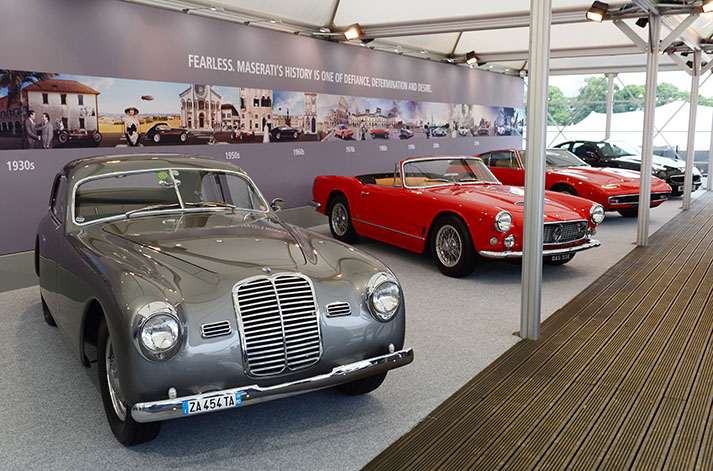 TrackWorthy – Maserati stand display at the Goodwood Festival of Speed 2017 (2)