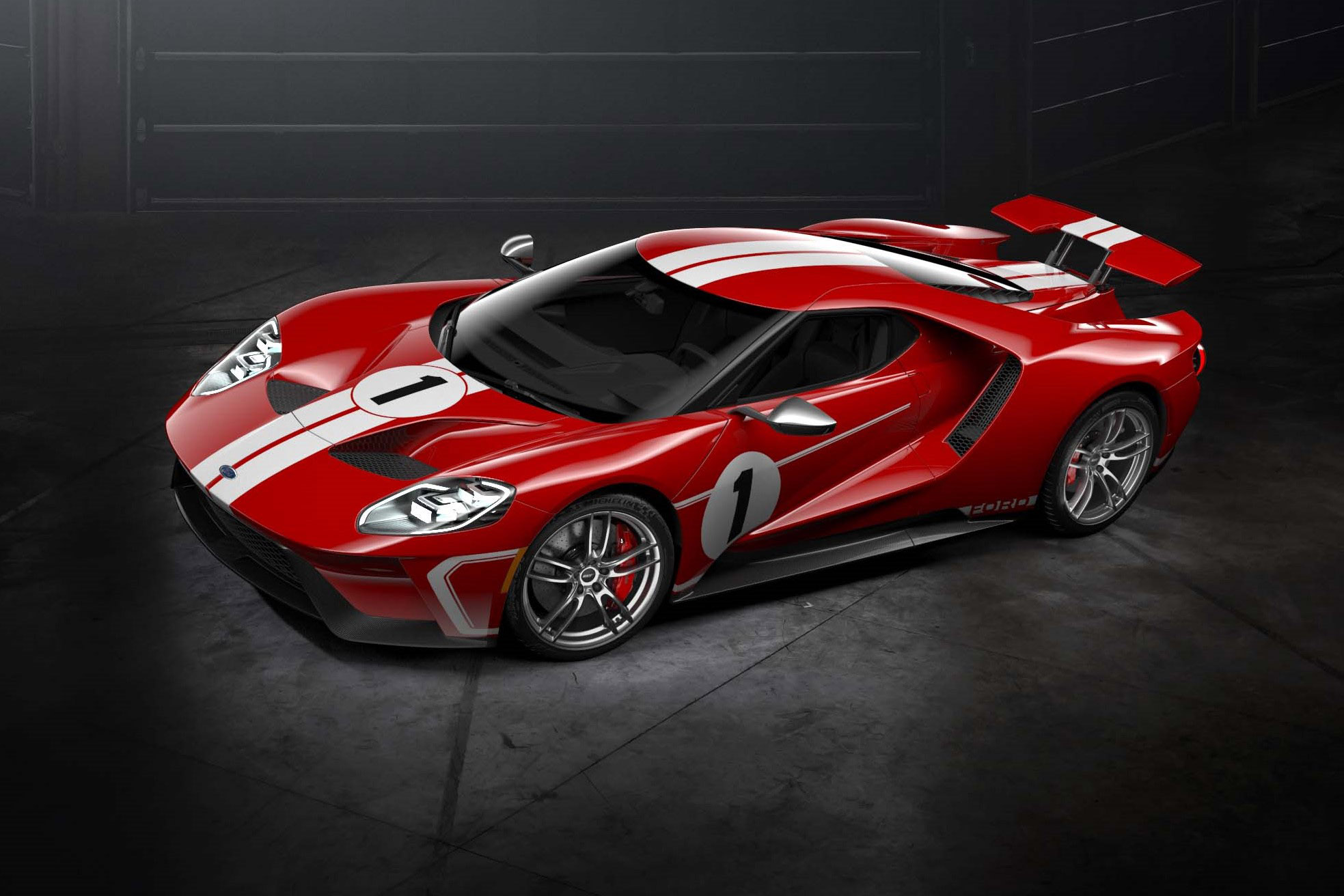 TrackWorthy - 2018 Ford GT '67 Heritage Edition