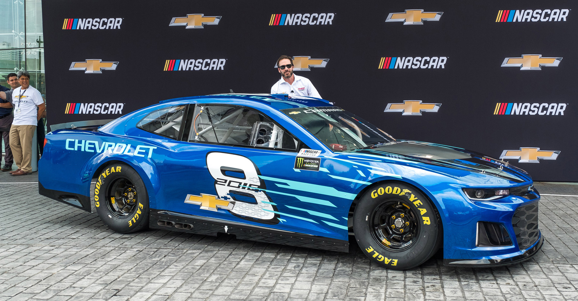 Revealed 2018 Chevrolet Camaro Zl1 Nascar Race Car