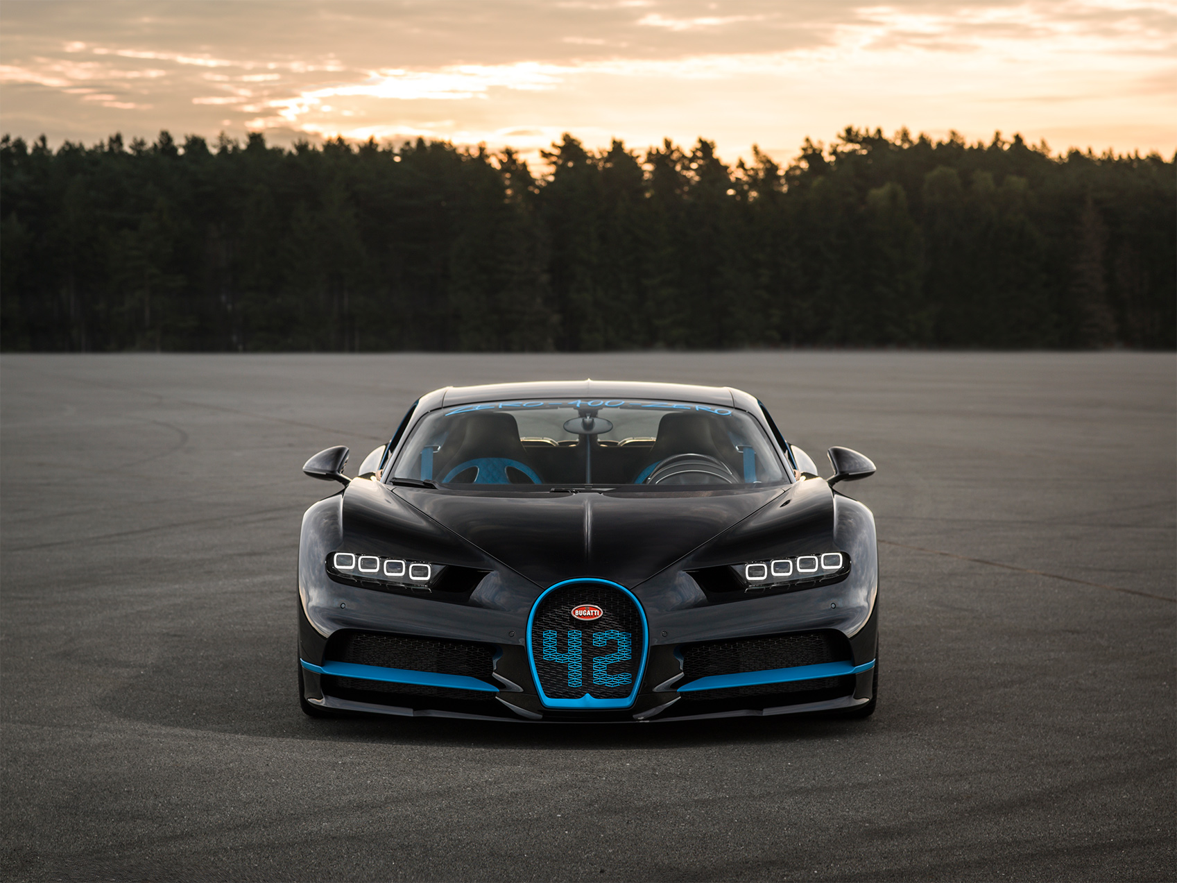 TrackWorthy - -Bugatti Chiron 0-400-0 world record (7)