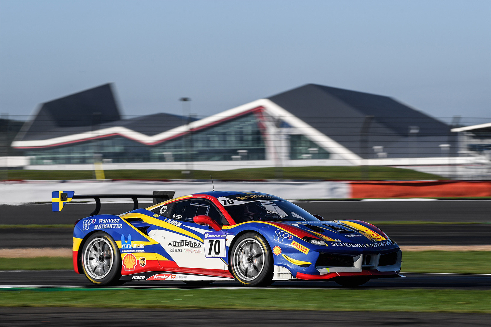 TrackWorthy - Ferrari North Europe 8th Annual Charity Event at Silverstone (1)