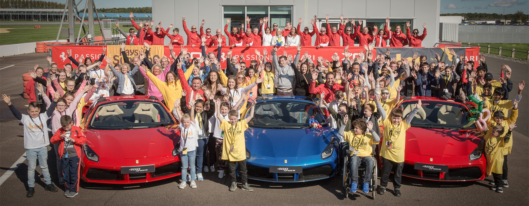 TrackWorthy - Ferrari North Europe 8th Annual Charity Event at Silverstone (73)