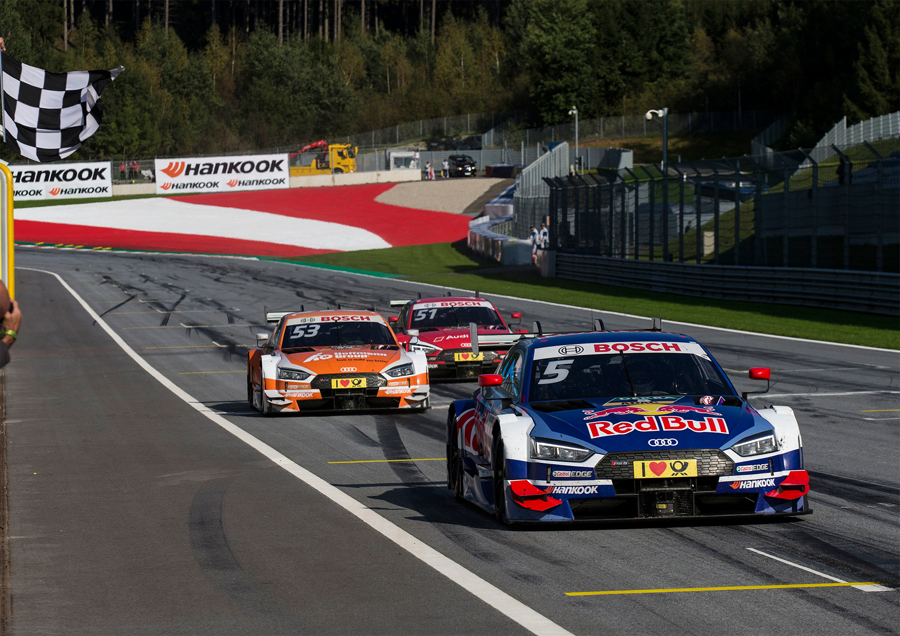 TrackWorthy - Red Bull Audi RS 5 DTM No. 5 Mattias Ekström