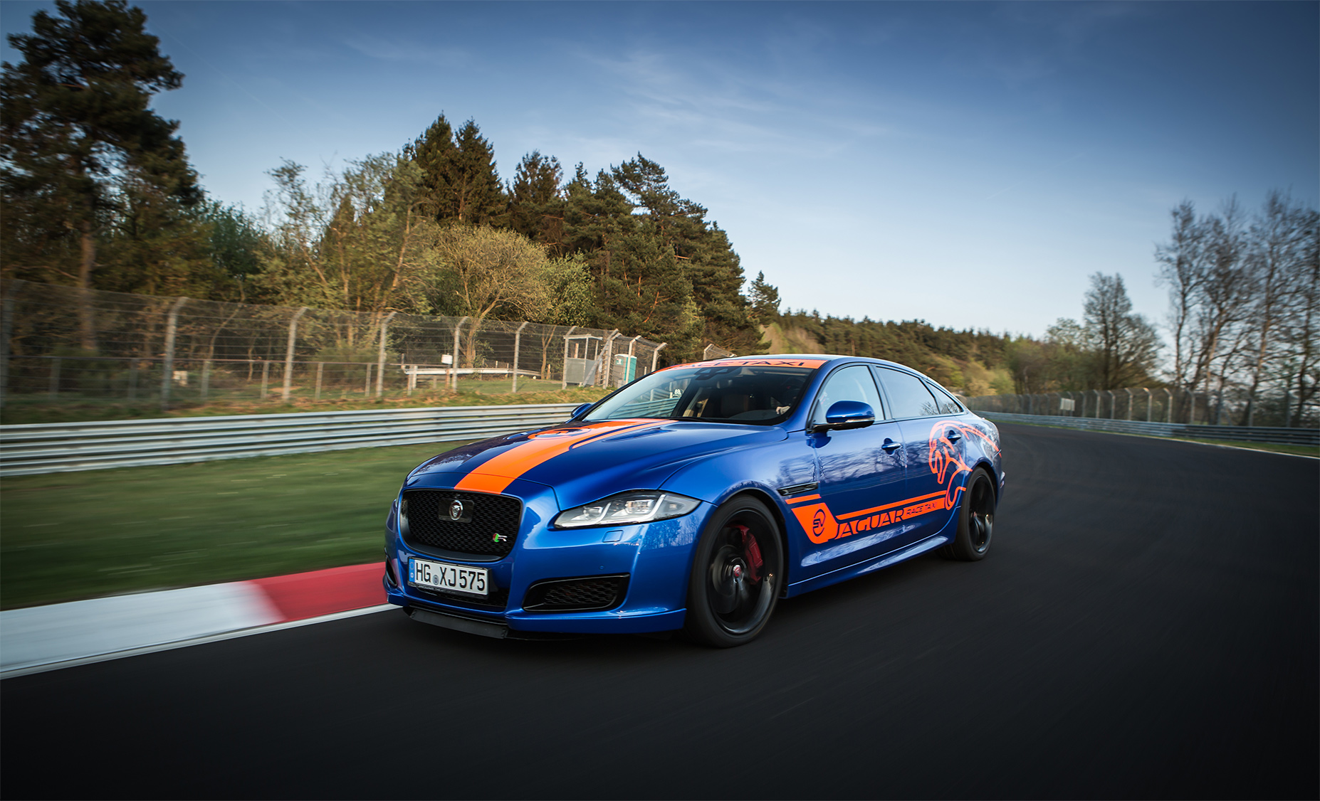 TrackWorthy - Jaguar F-TYPE SVR and XJR575 Nurburgring Race Taxis (5)
