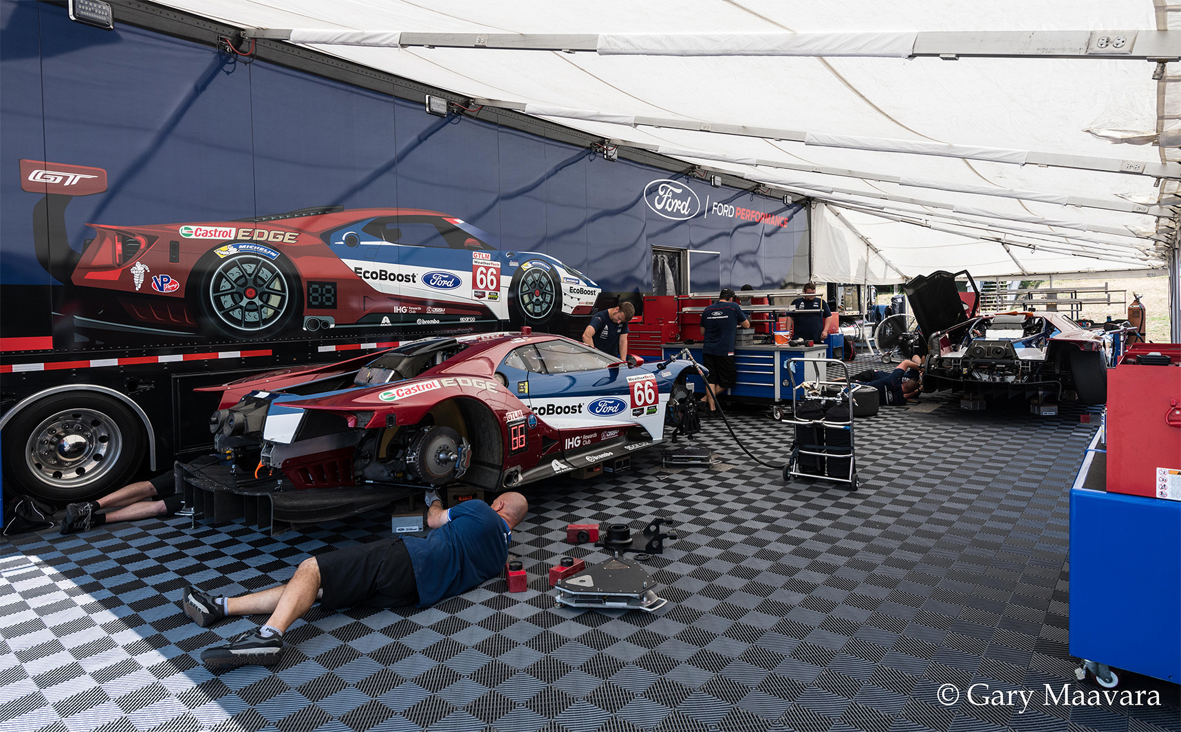 TrackWorthy - Thursday_paddock_Ford GT_Ford Chip Ganassi Racing